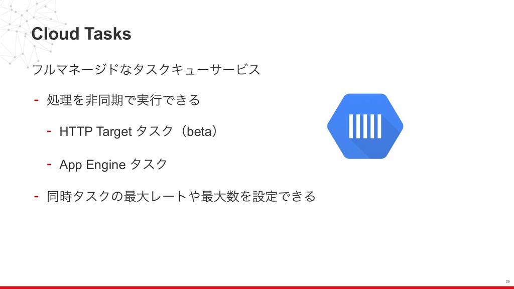 Cloud Tasks ϑϧϚωʔδυͳλεΫΩϡʔαʔϏε - ॲཧΛඇಉظͰ࣮ߦͰ͖Δ -...