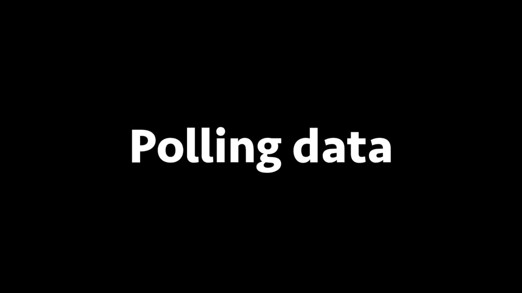 BREAK INTO DATA SCIENCE Polling data