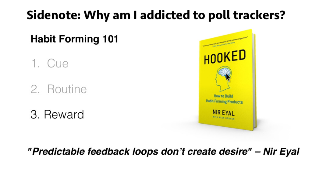 Sidenote: Why am I addicted to poll trackers? H...