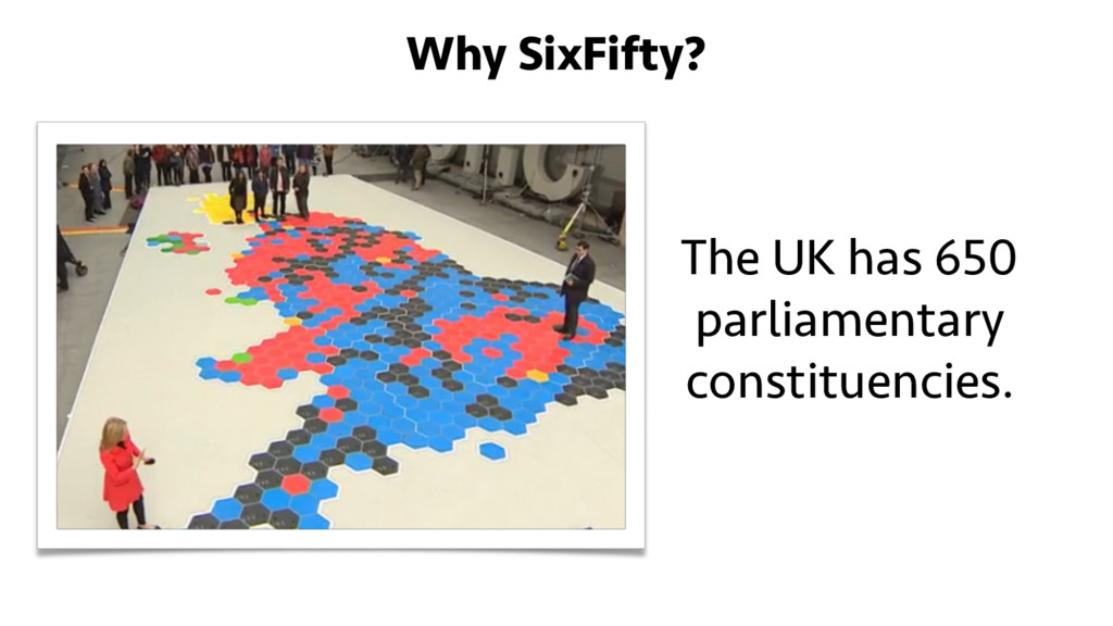 The UK has 650 parliamentary constituencies. Wh...