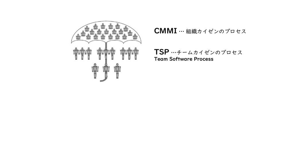 TSP …チームカイゼンのプロセス Team Software Process CMMI … ...