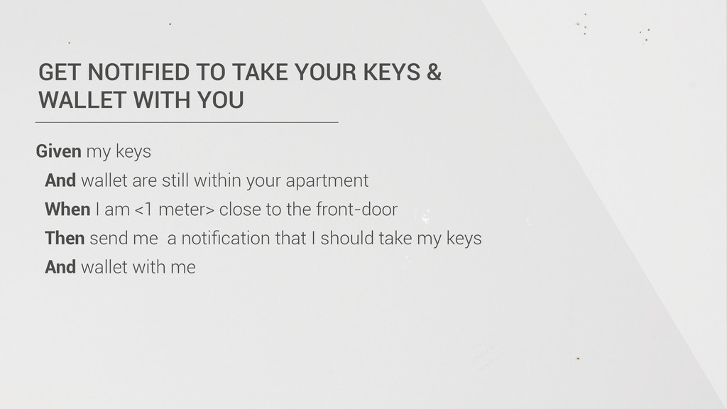 GET NOTIFIED TO TAKE YOUR KEYS & WALLET WITH Y...