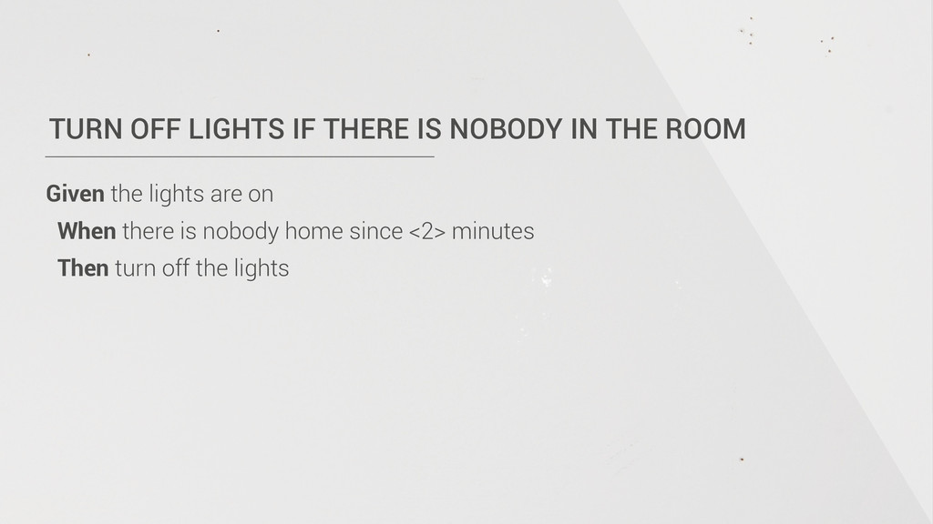 TURN OFF LIGHTS IF THERE IS NOBODY IN THE ROOM ...