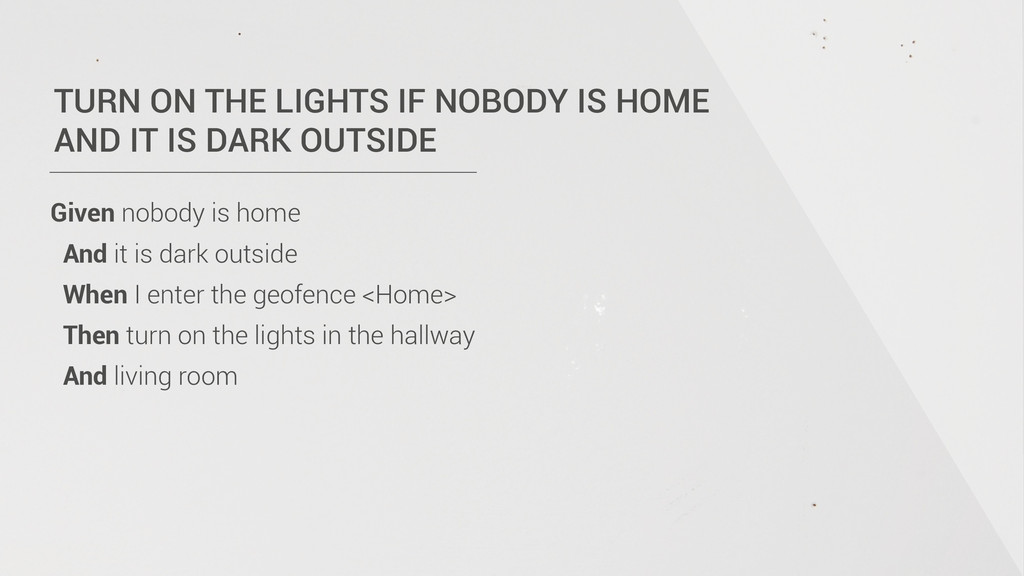 TURN ON THE LIGHTS IF NOBODY IS HOME  AND IT I...