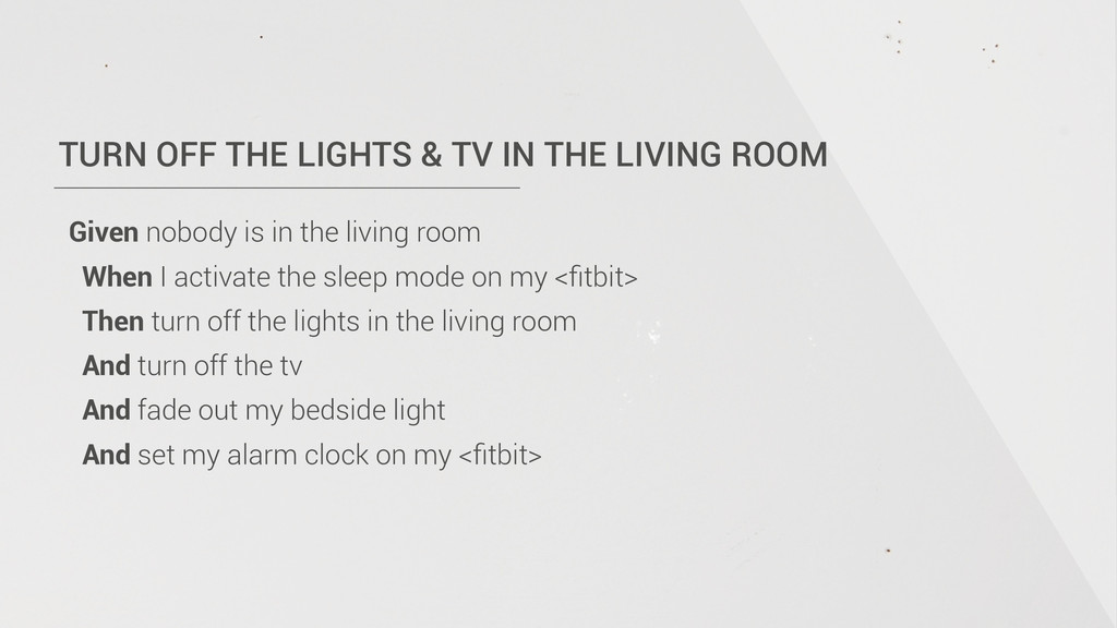 TURN OFF THE LIGHTS & TV IN THE LIVING ROOM Giv...