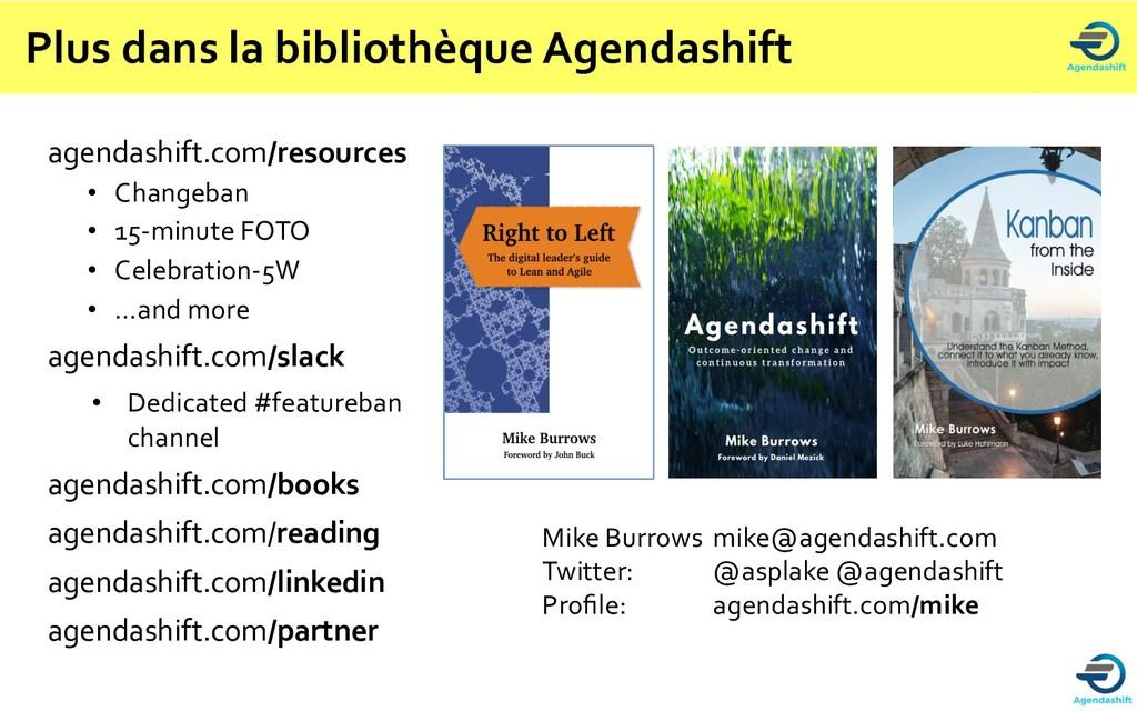 Plus dans la bibliothèque Agendashift agendashi...