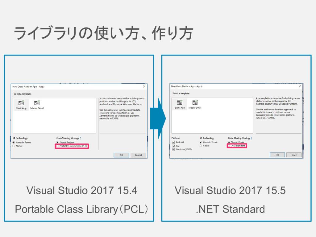 ライブラリの使い方、作り方 Visual Studio 2017 15.4 Portable ...