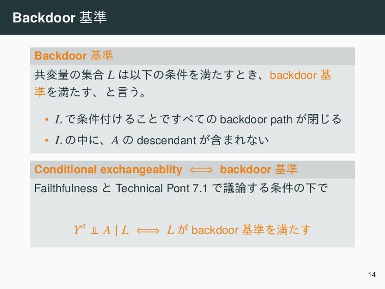 Backdoor ج४ Backdoor ج४ ڞมྔͷू߹ L ҎԼͷ݅Λຬͨ͢ͱ͖ɺb...