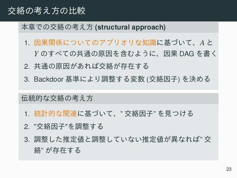 ަབྷͷߟ͑ํͷൺֱ ຊষͰͷަབྷͷߟ͑ํ (structural approach) 1. Ҽ...