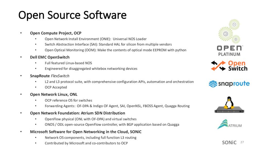 Open Source Software • Open Compute Project, OC...
