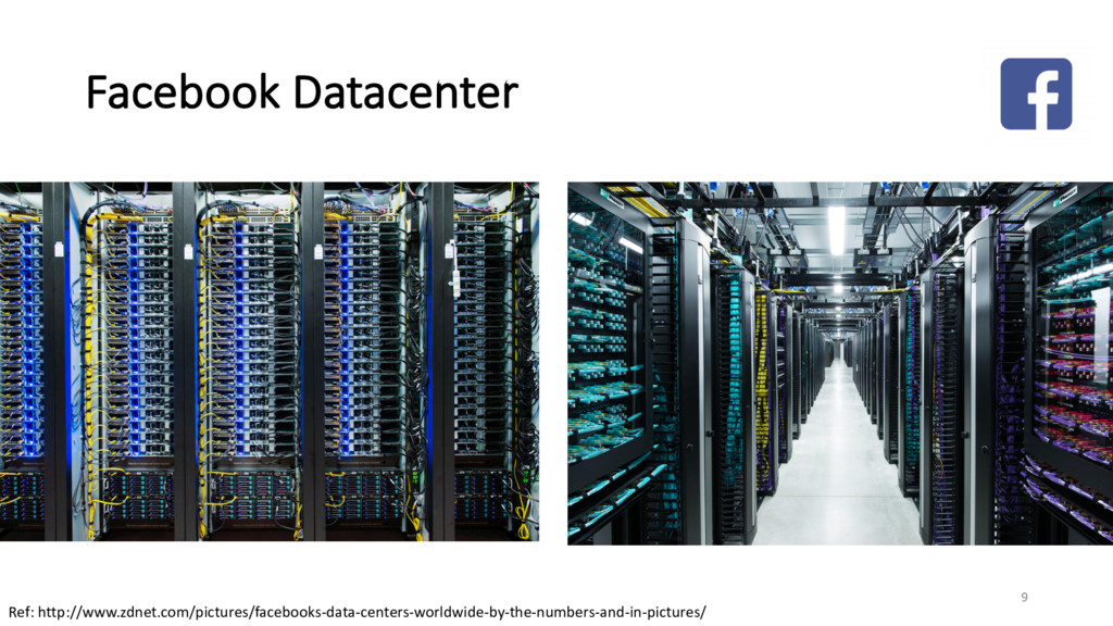 Facebook Datacenter Ref: http://www.zdnet.com/p...