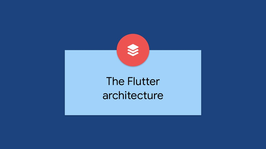 The Flutter architecture