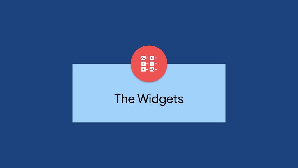 The Widgets