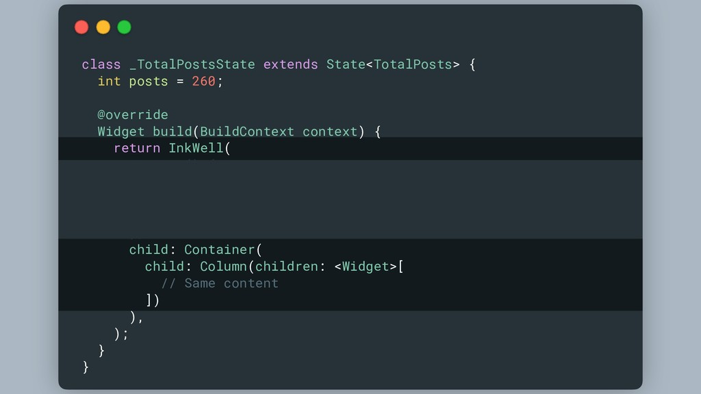 class _TotalPostsState extends State<TotalPosts...