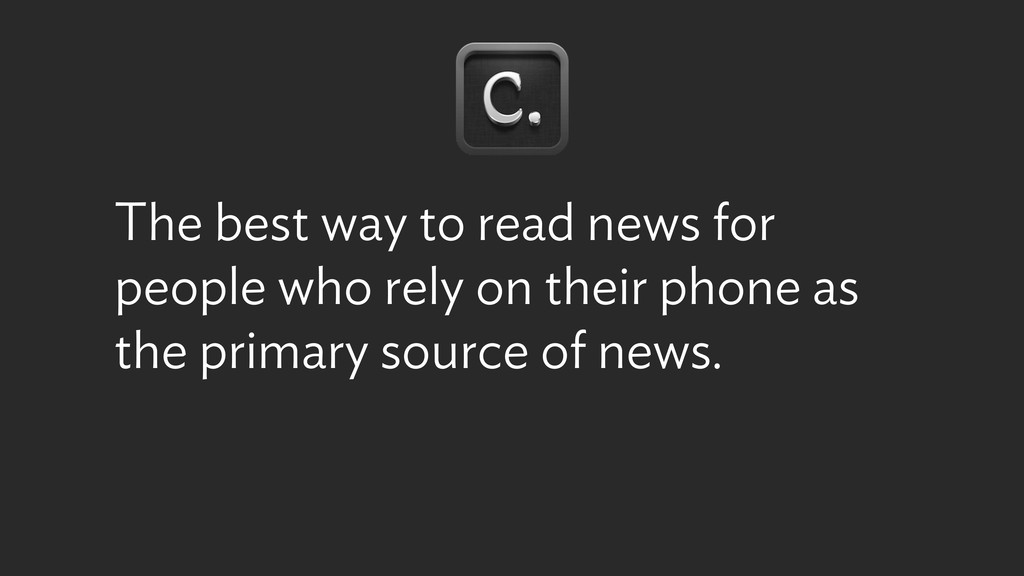 The best way to read news for people who rely o...