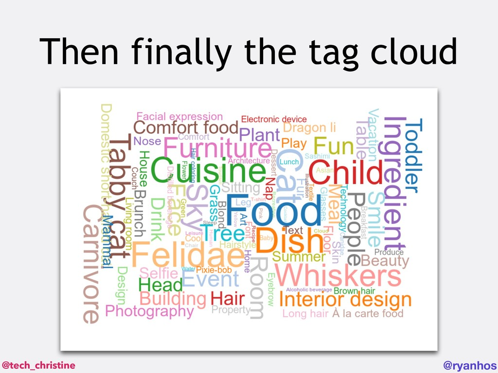 @tech_christine @ryanhos Then finally the tag c...