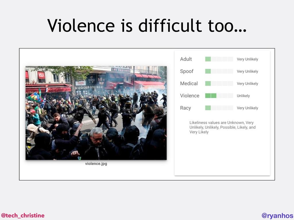 @tech_christine @ryanhos Violence is difficult ...
