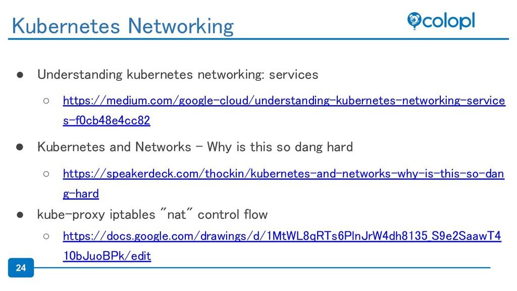 24 ● Understanding kubernetes networking: servi...