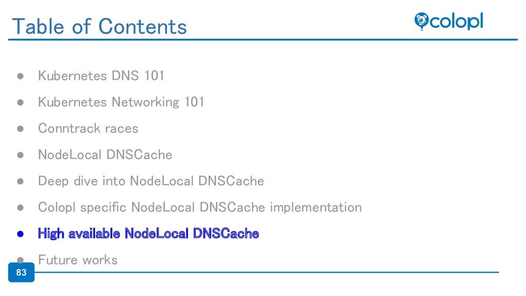 83 ● Kubernetes DNS 101 ● Kubernetes Networkin...