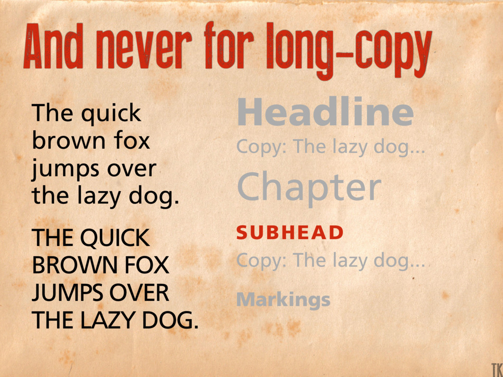 The quick brown fox jumps over the lazy dog. Th...