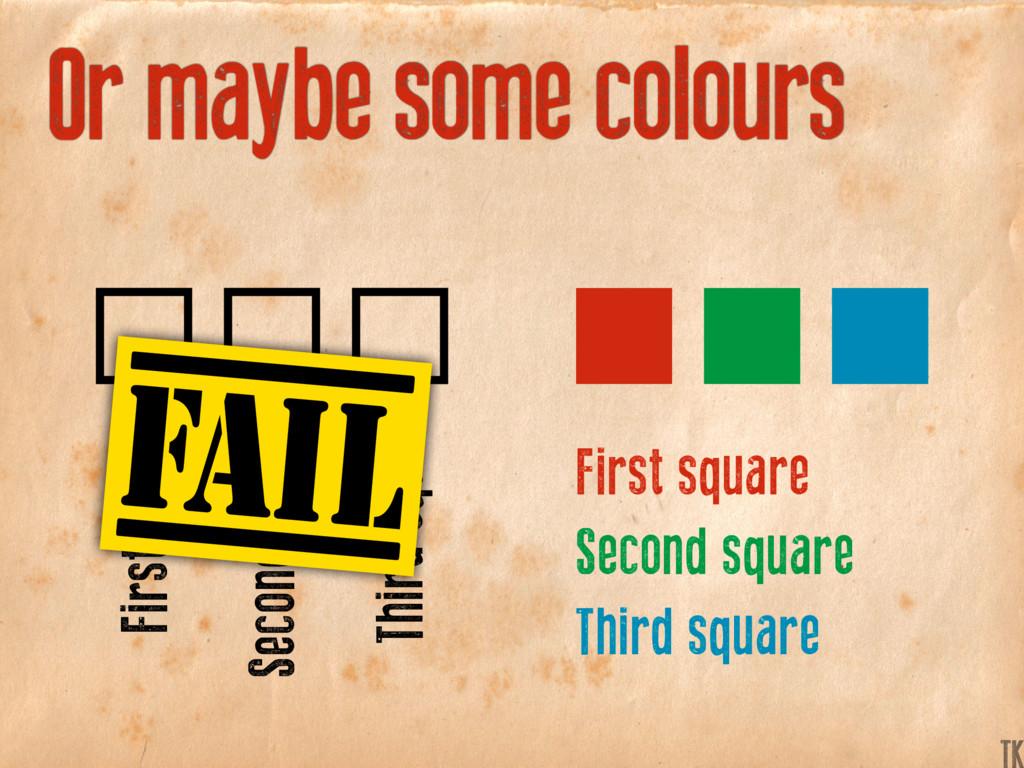 First square First square Second square Second ...