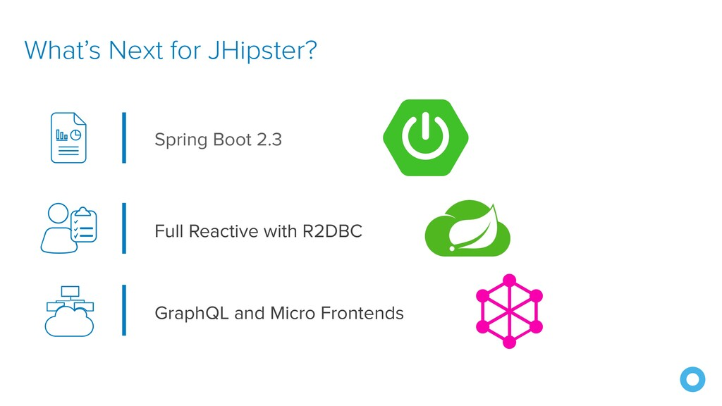 What's Next for JHipster? Full Reactive with R2...