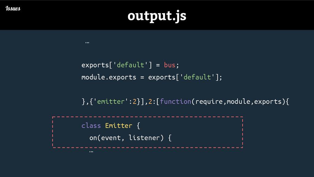 … exports['default'] = bus; module.exports = ex...