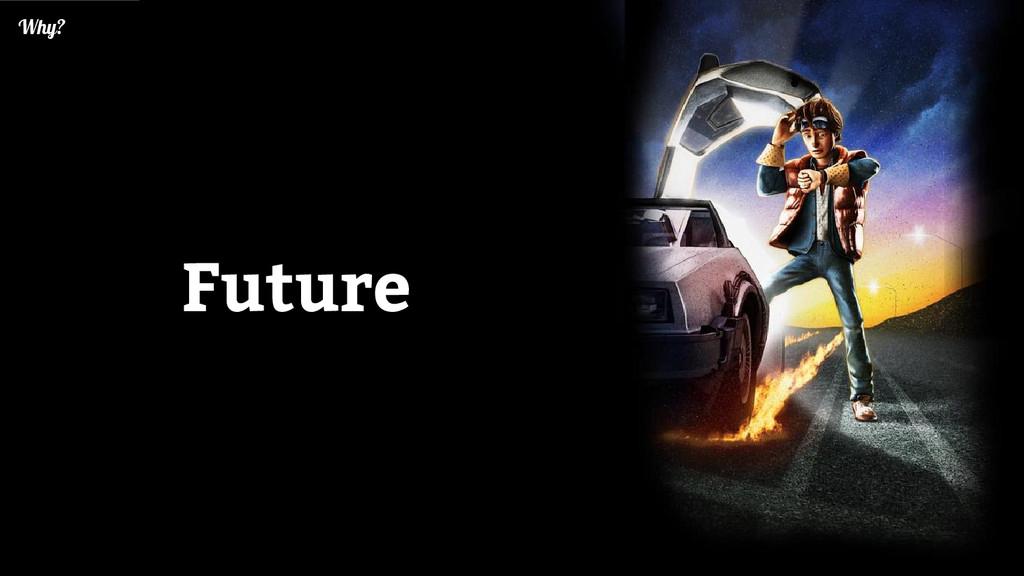 Future Why?