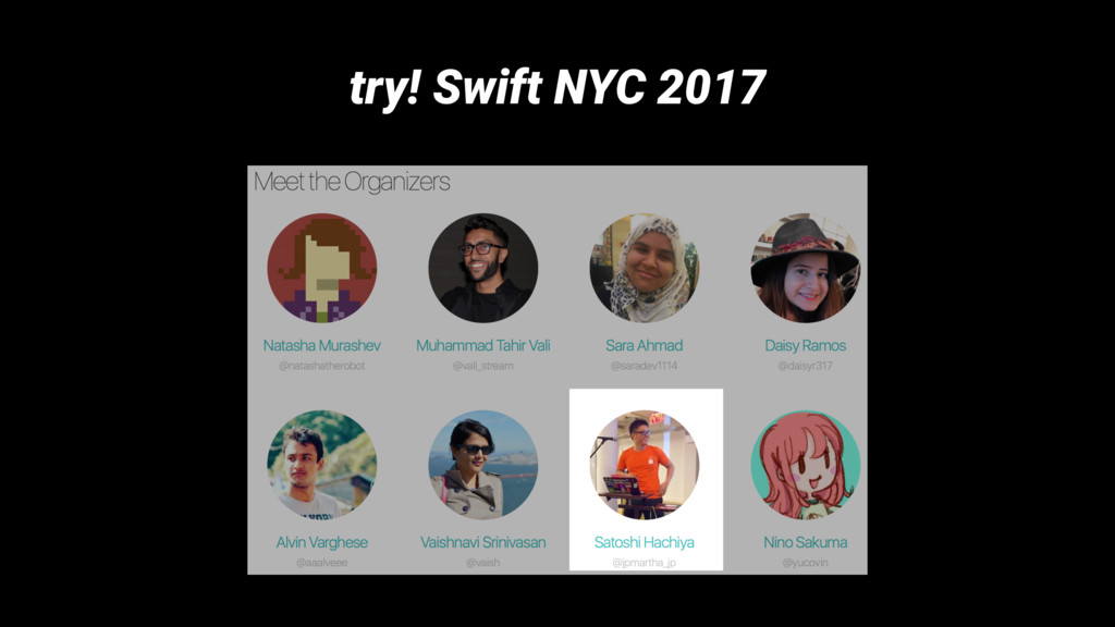 try! Swift NYC 2017