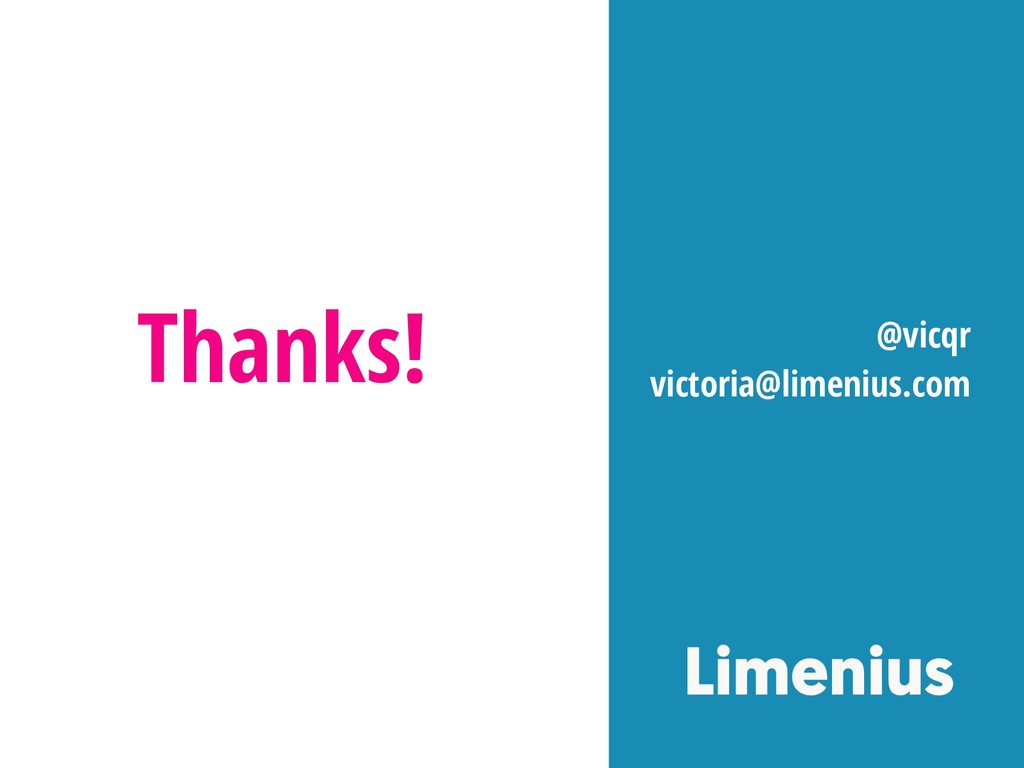 Thanks! @vicqr victoria@limenius.com