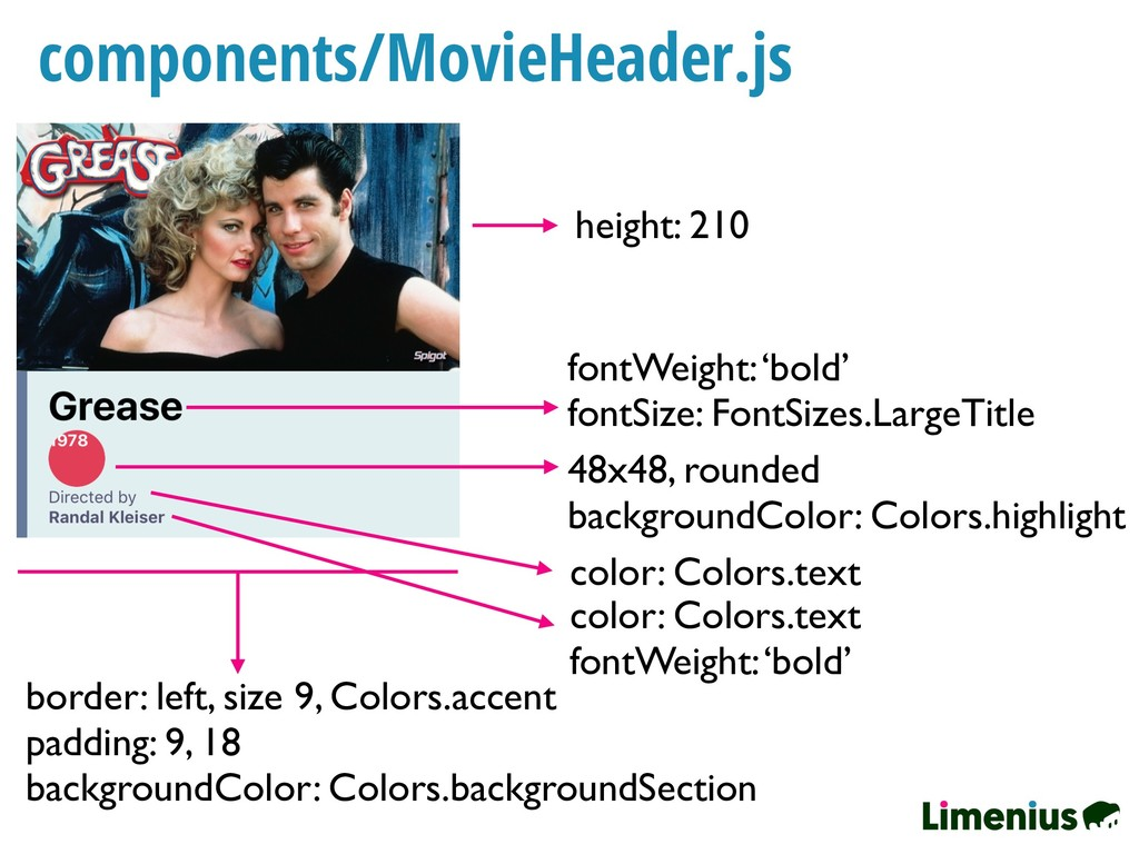 components/MovieHeader.js height: 210 fontWeigh...