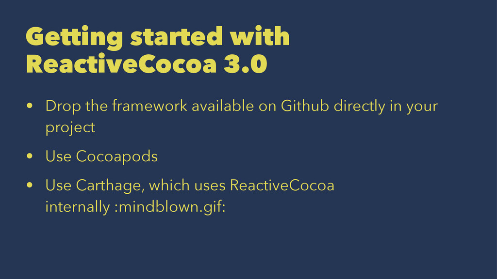 Getting started with ReactiveCocoa 3.0 • Drop t...