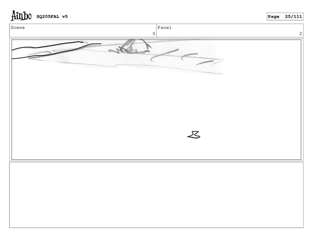 Scene 5 Panel 2 SQ205FAL v5 Page 25/111