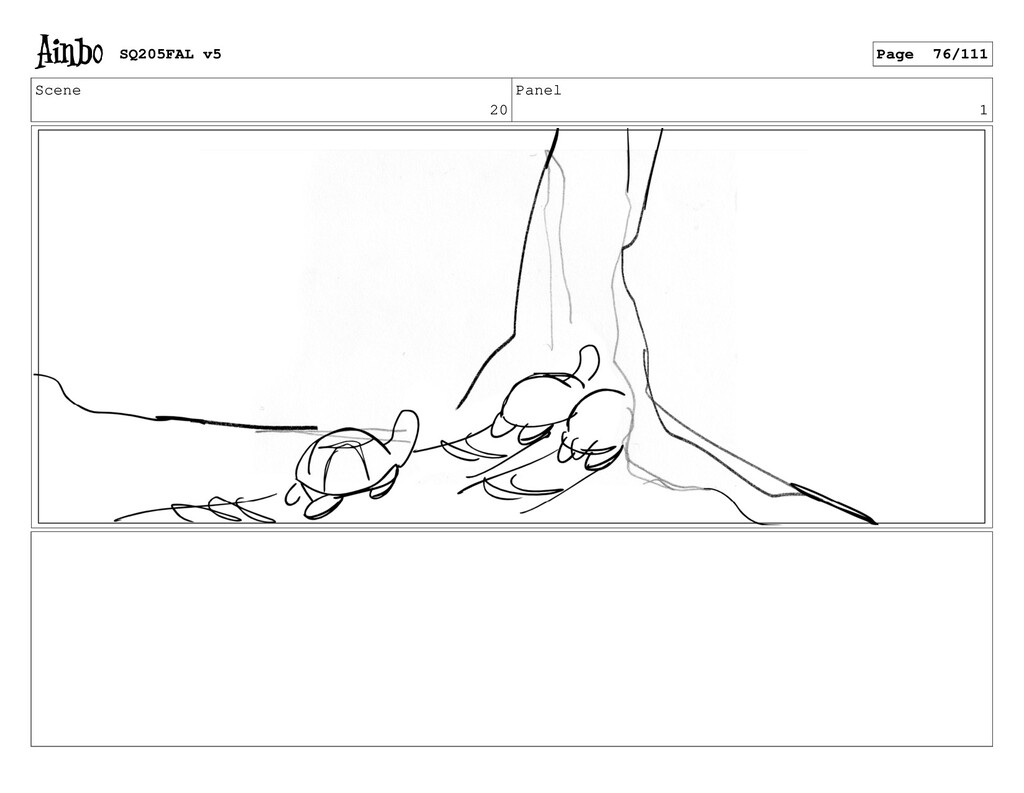 Scene 20 Panel 1 SQ205FAL v5 Page 76/111