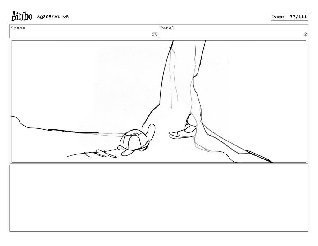Scene 20 Panel 2 SQ205FAL v5 Page 77/111