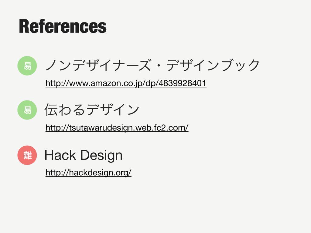 References • ϊϯσβΠφʔζɾσβΠϯϒοΫ http://www.ama...