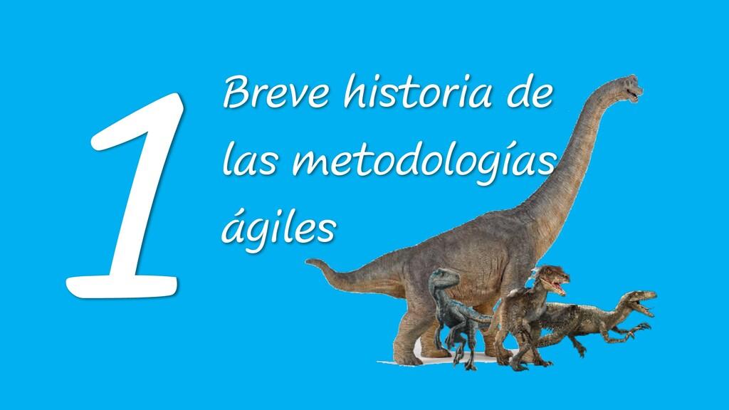 Breve historia de las metodologías ágiles 1