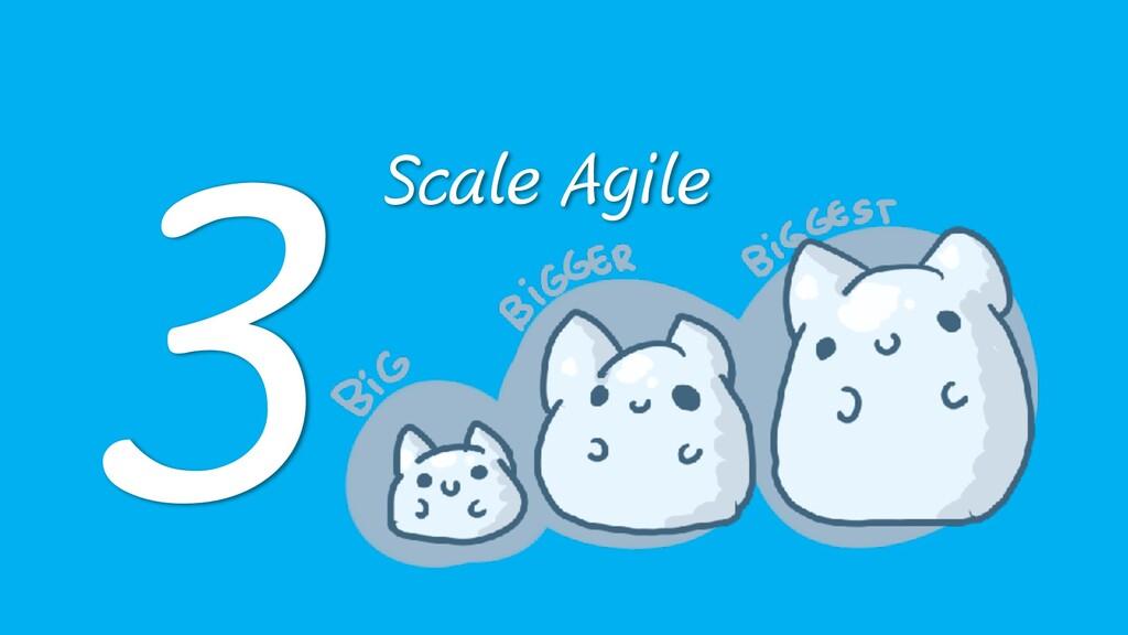 Scale Agile 3