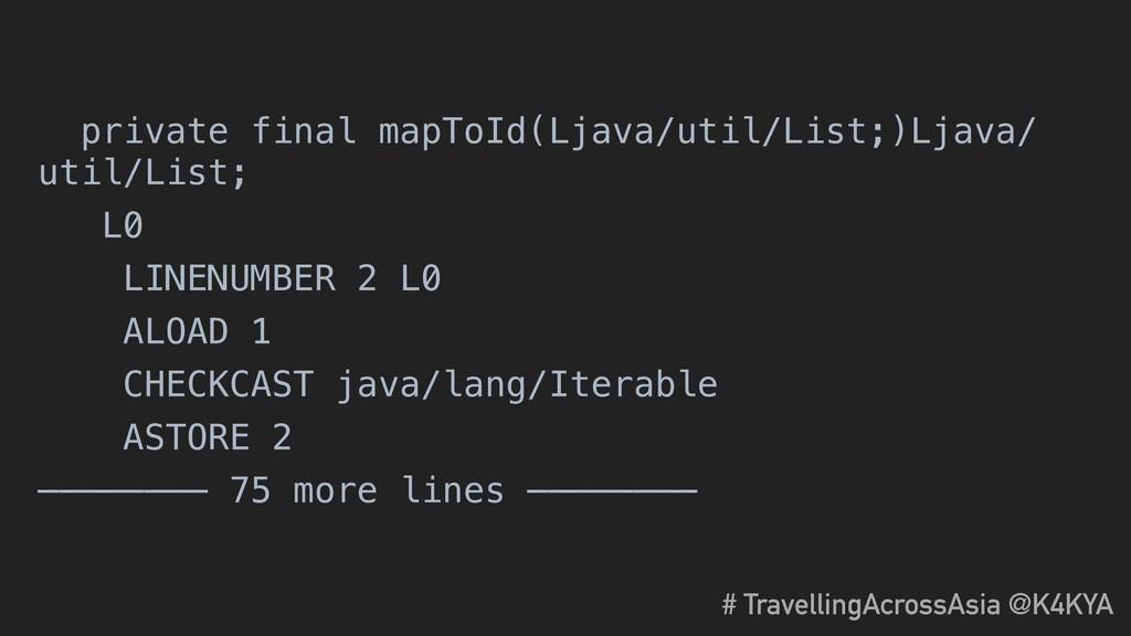 private final mapToId(Ljava/util/List;)Ljava/ u...