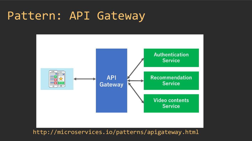 Pattern: API Gateway http://microservices.io/pa...