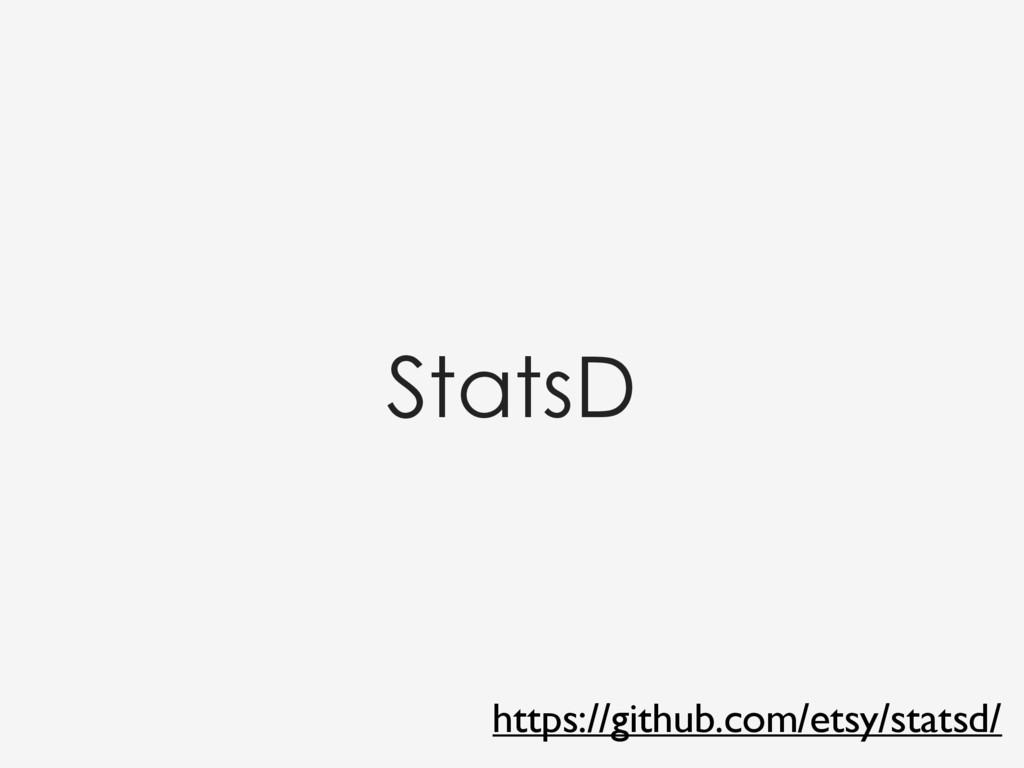 StatsD https://github.com/etsy/statsd/