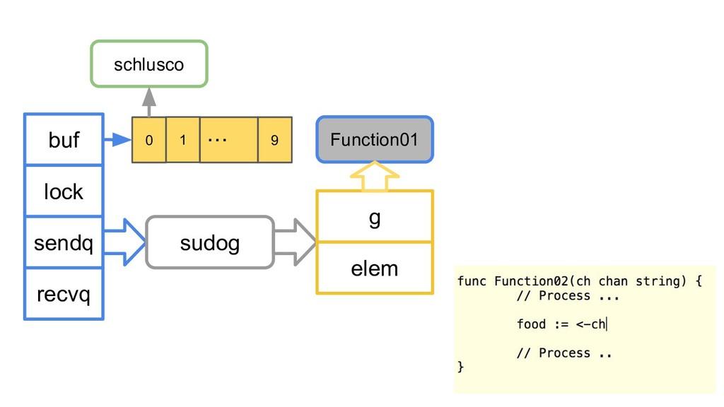 buf lock sendq recvq sudog g elem Function01 sc...