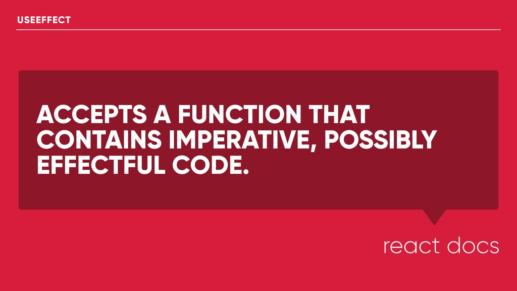 ACCEPTS A FUNCTION THAT CONTAINS IMPERATIVE, PO...