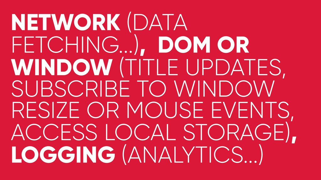 NETWORK (DATA FETCHING...), DOM OR WINDOW (TITL...