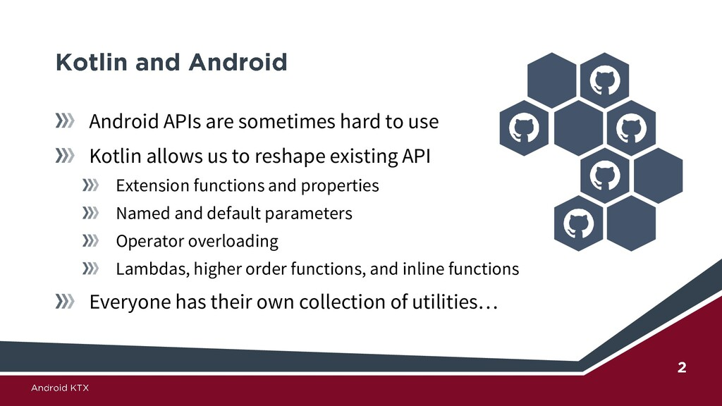 Android APIs are sometimes hard to use Kotlin a...