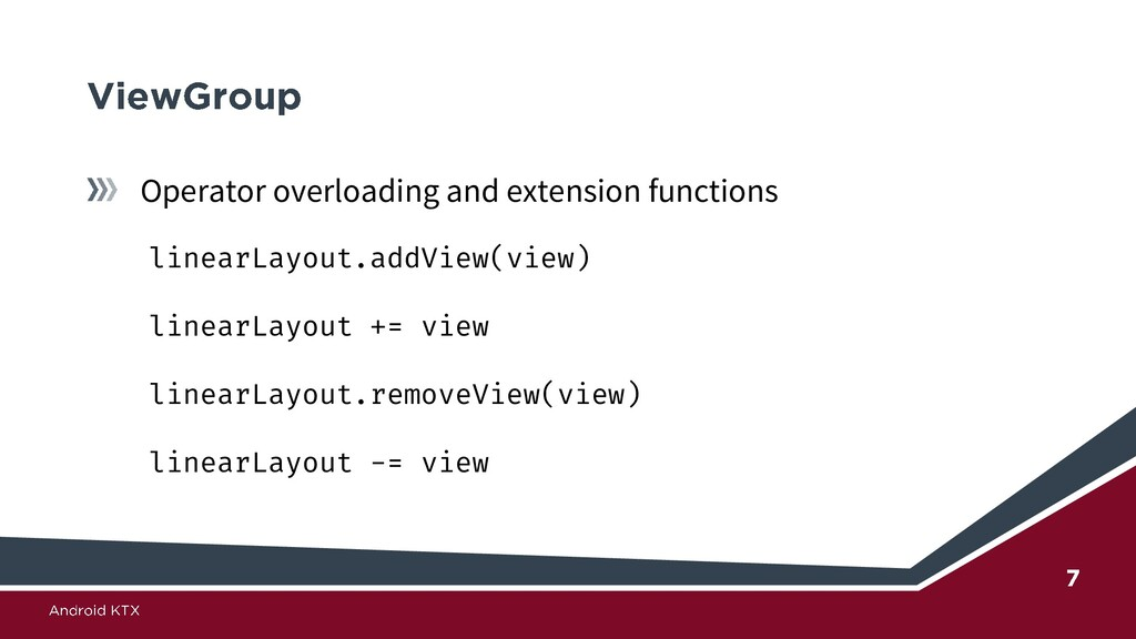 Operator overloading and extension functions li...