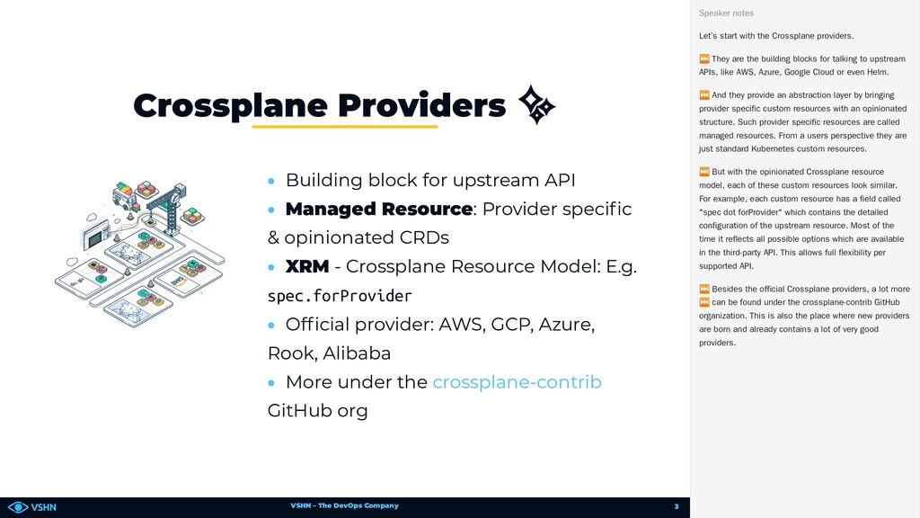 VSHN – The DevOps Company • Building block for ...