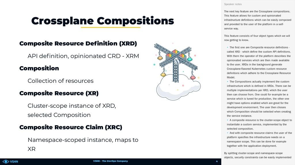 VSHN – The DevOps Company Composite Resource De...