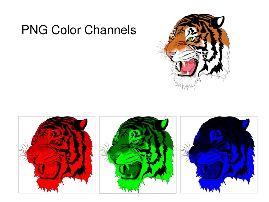 PNG Color Channels