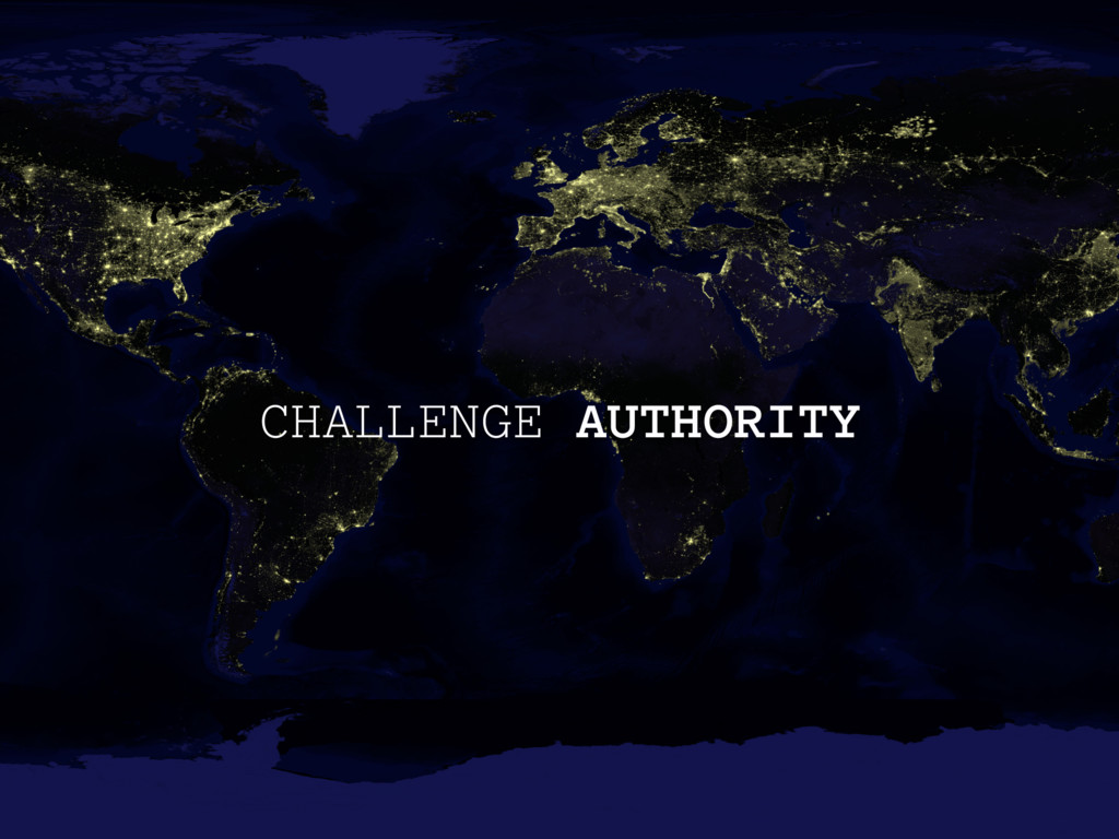 CHALLENGE AUTHORITY